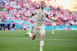 [欧洲杯]丹麦1-2比利时