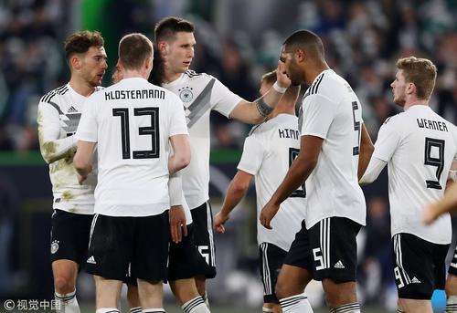 [热身赛]德国1-1塞尔维亚