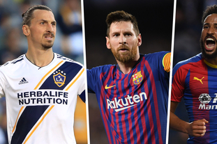 FIFA最佳进球候选:伊布PK梅西