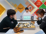 幻灯-韩国围棋联赛第15轮I  崔精申真谞出战