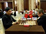 高清-上合组织国家团体赛第2日 中国一队对阵吉尔吉斯斯坦