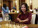 高清-上合组织国象赛第3日 笑容灿烂的外国棋手们