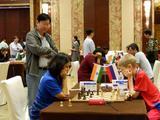 高清-胶州国象团体赛最终轮 叶江川现场观战