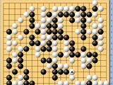 动图棋谱-名人战决赛第2局 芈昱廷中盘胜许嘉阳