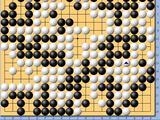 动图棋谱-倡棋杯三番棋决赛I 柯洁1点险胜周睿羊