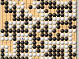 动图棋谱-围棋个人赛最终轮 陈贤执黑胜应一韬