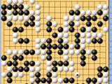 动图棋谱-个人赛第6轮 王星昊执白胜李雨昂
