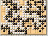 动图棋谱-围棋个人赛第7轮 蔡竞中盘胜陈贤
