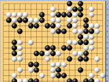 动图棋谱-梦百合杯32强战 谢科执白胜杨鼎新