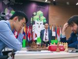 高清-国象世界杯决赛首局 丁立人对决拉贾波夫