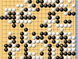 动图棋谱-围甲季后赛首轮首局 芈昱廷执黑中盘胜时越