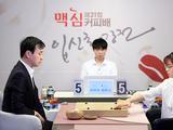 幻灯-韩国麦馨咖啡杯16强战 崔精胜赵汉乘
