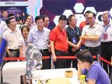 高清-蔡振华林建超等参观中国围棋大会