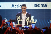 C罗获意甲最佳球员奖并入选最佳阵容