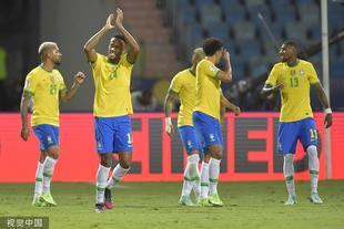 [美洲杯]巴西1-1厄瓜多爾
