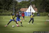 法甲球隊斯特拉斯堡訓練備戰新賽季比賽