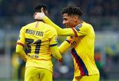 [欧冠]国际米兰1-2巴塞罗那