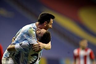 [美洲杯]阿根廷1-0巴拉圭