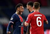 [欧冠]巴黎0-1拜仁 卫冕冠军客场进球少出局