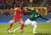 国际足球友谊赛比利时3-3平墨西哥