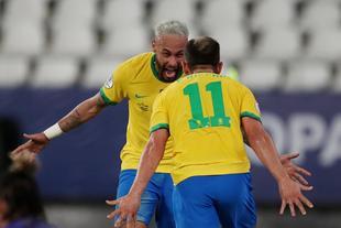 [美洲杯]巴西4-0秘鲁