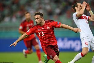 [欧洲杯]瑞士3-1土耳其