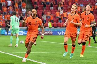 [欧洲杯]荷兰2-0奥地利