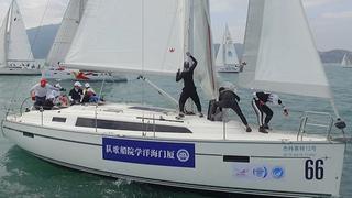 第十二届中国杯帆船赛Day2