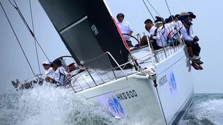 第十二届中国杯帆船赛Day1