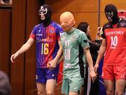 日本男排联赛搞笑一幕