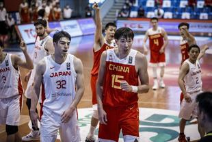亞預賽-中國男籃90-84日本