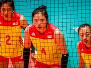 女排世青赛中国0-3意大利