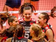 女排世青赛土耳其晋级四强