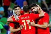 [热身赛]西班牙1-0突尼斯