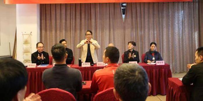 浙江省武术协会咏春拳专业委员会第一期教练员培训