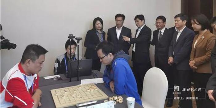 国家体育总局副局长李建明巡视智运会赛区