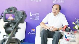 赵士国:发展帆船运动吸引游客