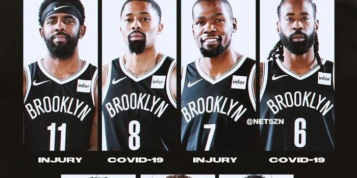 7人缺赛!这支NBA球队已经提前出局了.......