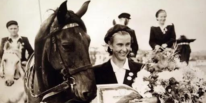 前苏联马术女王、传奇盛装舞步骑手尼娜·格罗莫娃97岁高龄去世