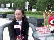 """未来之星""""双冠王""""骑手李沐菲:与全国小骑手比赛是个挑战"""