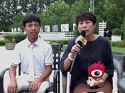 冠军骑手家长采访:获得冠军毫不意外