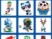萌版足协杯吉祥物投票开启 15个卡通形象你选谁