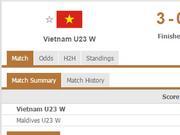 残暴!越南女排打出单局25-1 连得32分开局15-0