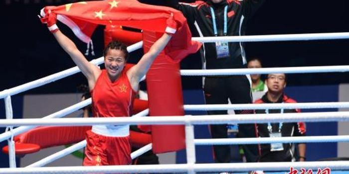 中國選手摘得軍運會史上首枚女子拳擊金牌