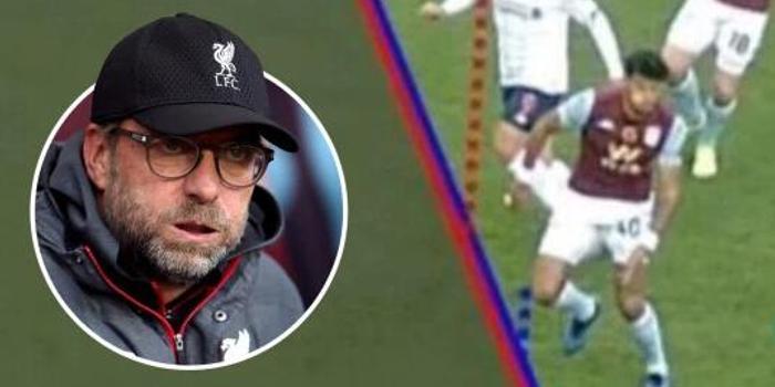 对手:利物浦被吹的球没越位 克洛普:害人丢帅位啊