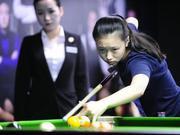 中式台球世锦赛上的00后:台球是梦想也是生活