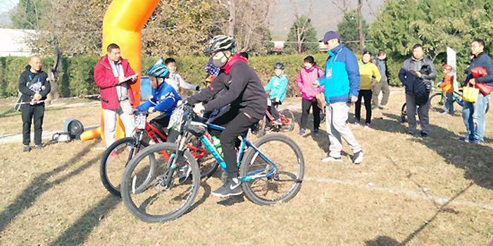 杨桂林家庭自行车嘉年华 体验骑行快乐参与全民健身