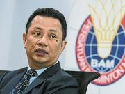 大马羽总会长竞选亚羽联主席 亦竞选世羽联副会长