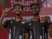 印度第一男双因伤退出世锦赛 伤病系源自泰国赛