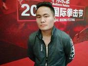丝路冠军联赛蒙古拳手:练拳19年 爱它一如继往